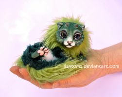 Newborn forest dragon spirit by LisaToms