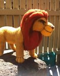 Mufasa - Needle-Felting Sculpture FINALLY FINISHED by NostalgicChills