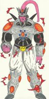 Ultimate Omega Buu (Nightlong absorbed) by DBZ2010