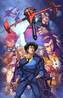 Cowboy Bebop Color by logicfun