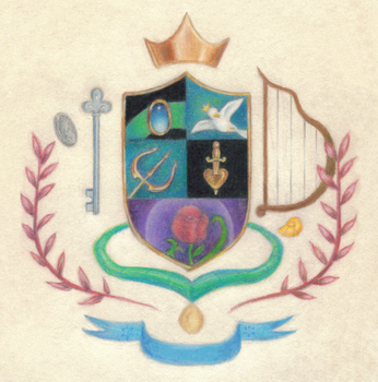 Disney family crest by enigmawing