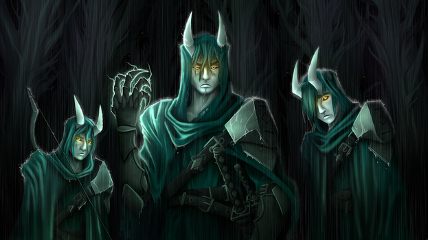 Brothers of the Storm by TimeLordJikan
