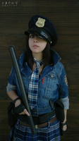 Helena Harper cosplay RE 6 Mercenaries by VickyxRedfield