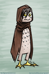 Cute Little Owl Doodle by hglucky13