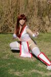 Kasumi Fight Stance by HollyGloha