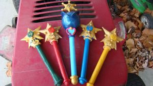 sailor moon star wands (done) by lilYumi-chan