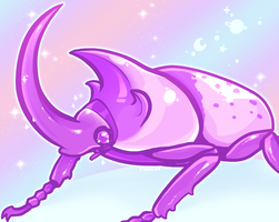 follow for more soft beetle [6/22/14] by Skelefrog