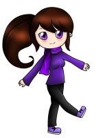 Purple girl 2 by Mikapower19