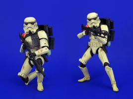 Black Series - Sandtrooper Repaint 2 by Lalam24