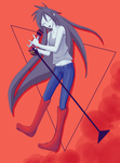 Marceline -- Adventure Time by Pineyco