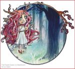 Chibi Commission .The Forest Queen. by Cleox