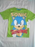Classic Sonic and Logo Green T-Shirt by BoomSonic514