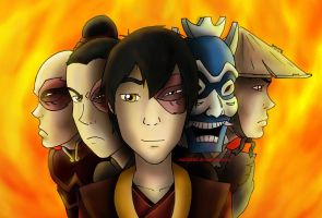 Avatar: Faces of Zuko by Mattierial