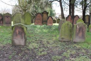 Jewish Cemetery Stock 38 by Malleni-Stock