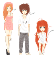 My OC's by drive-a-leaf