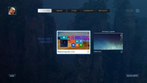 Steam OS Concept Games Steam line by Ohsneezeme