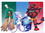 Alola! Choose your starter! by MidnightSketches