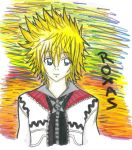 twilight town roxas by pineapplescourge
