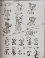 Corsets by CandyCaner0216