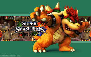 Bowser Wallpaper - Super Smash Bros. Wii U/3DS by AlexTHF