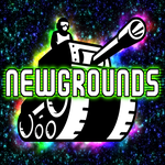 Newgrounds Album Cover by darkdissolution