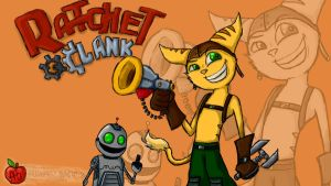 The Ratchet and Clank by Apples-Malus