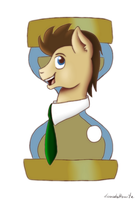 Doctor Whooves by Dunnowhattowrite