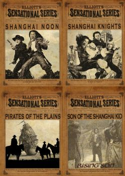 Huang Chung: The Rising Son Dime Novel Covers by Scavgraphics