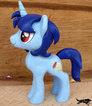 Commission-OC Figure, Gaming Brony by LostInTheTrees