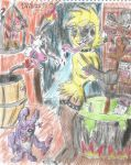 Toy witch Chica cooking a delicious soup by CAPTAIN-CHETO