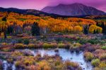 A Colorado Fall Along Kebler Pass by kkart