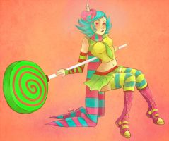 Roxy Trickster by Gunmi