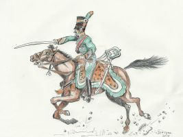 1799 Captain Lasalle in Italy by Stcyr74