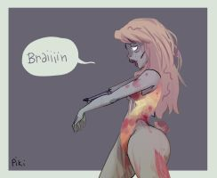 Brain_For a new Deviant ID by Pikila