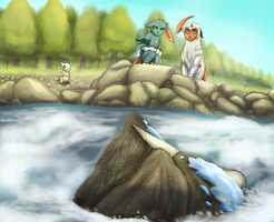 PMD - Side Mission 1 - River Rapid by MiaMaha