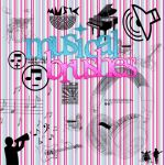 Musical Brushes by MyDesireForAT