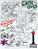 TROUBLESOME CRITTERS At Game Nights by Josiah-Shockency-JCS