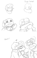 Would you smooch a skele? by kittychan1997