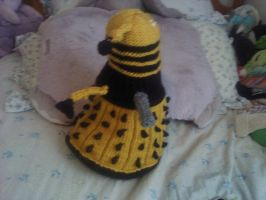 Knitted Dalek from Doctor Who by thenextdoctor42