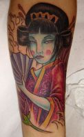 another geisha by Cocktailshaker