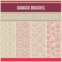 [For SAI] Damask Brushes by ASlovesLisa