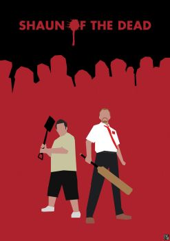 Blood and Ice Cream: Shaun of the Dead by HerrOwley