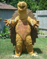 Old Gamera Costume by JFakeWeston