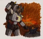 Megatron at the Forge by Ha-HeePrime