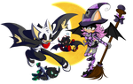 Halloween collab with x-themysticalrose-x by rouge2t7