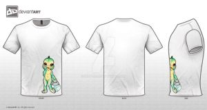 Cute Monsters little baby  lagoon by IZZY-BD