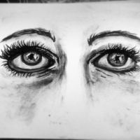 Charcoal Eyes by Sukai3