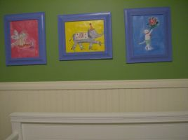 All three baby paintings by Athanton