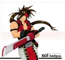 Guilty Gear X - Sol Badguy by radiationboyy
