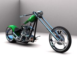Chopper with textures 2 by scogs